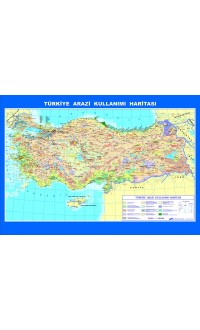 Coğrafya Harita Seti Çıtalı Ders Haritası