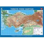 Türkiye Fiziki Çıtalı Ders Haritası 70x100cm