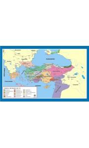 Anadolu Beylikleri Tarih Dersi Haritası