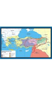 Anadolu Selçukları Tarih Dersi Haritası