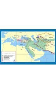 Büyük Selçuklu İmparatorluğu Tarih Dersi Haritası