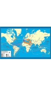 Büyük Seyahatler ve Coğrafi Keşifler Tarih Haritası