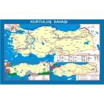 Kurtuluş Savaşı Tarih Ders Haritası