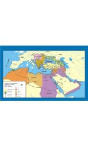Osmanlı İmparatorluğu Gerileme - Yıkılış Tarih Ders Haritası