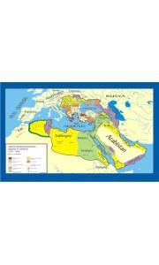 Osmanlı İmparatorluğu Kuruluş - Yükseliş Tarih Ders Haritası