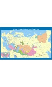 Türk Cumhuriyetleri Tarih Dersi Haritası