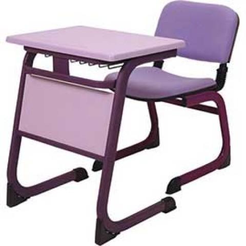 Tek Kişilik Okul Sırası Kumaşlı Sandalye