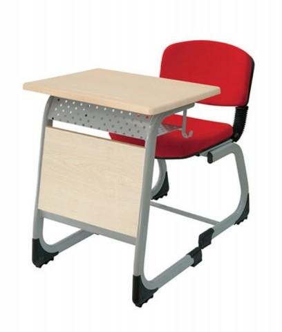 Werzalit Tek Kişilik Okul Sırası Kumaşlı Sandalye