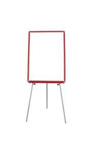50x70 cm Kırmızı Çerçeveli Ayaklı Yazı Tahtası