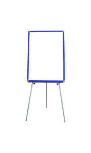 50x70 cm Mavi Çerçeveli Ayaklı Yazı Tahtası