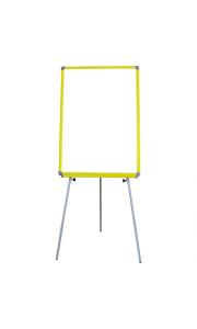 50x70 cm Sarı Çerçeveli Ayaklı Yazı Tahtası