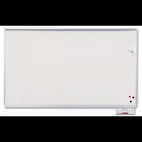 Emaye Yazı Tahtası Beyaz Duvara Monte 120x400 cm