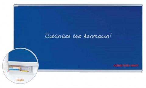 Mavi (blue) Yazı Tahtası-Emaye Yazı Tahtası Duvara Monte Mavi 150x300 cm