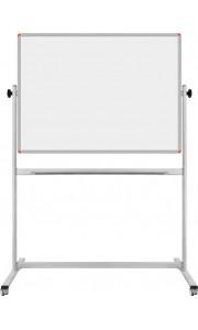 90*120 cm Çift Taraflı Mobil Beyaz Yazı Tahtası