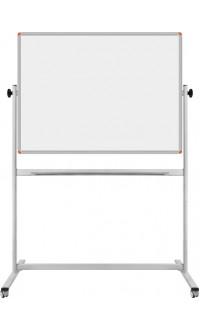 120*140 cm Çift Taraflı Mobil Beyaz Yazı Tahtası